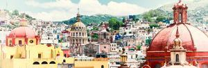 ¡Viva Mexico! Panoramic Collection - Guanajuato Cityscape IV by Philippe Hugonnard