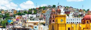 ¡Viva Mexico! Panoramic Collection - Guanajuato Cityscape V by Philippe Hugonnard