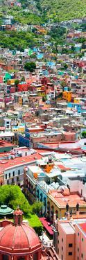 ¡Viva Mexico! Panoramic Collection - Guanajuato Colorful City IX by Philippe Hugonnard