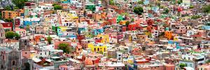 ?Viva Mexico! Panoramic Collection - Guanajuato Colorful City VI by Philippe Hugonnard