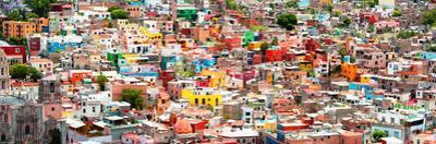 ¡Viva Mexico! Panoramic Collection - Guanajuato Colorful City VI by Philippe Hugonnard