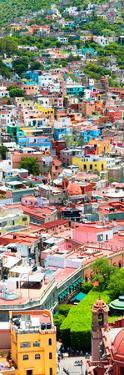 ¡Viva Mexico! Panoramic Collection - Guanajuato Colorful City VII by Philippe Hugonnard