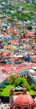 ¡Viva Mexico! Panoramic Collection - Guanajuato Colorful City VIII by Philippe Hugonnard