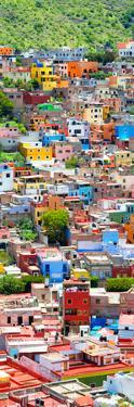 ¡Viva Mexico! Panoramic Collection - Guanajuato Colorful City X by Philippe Hugonnard