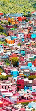 ¡Viva Mexico! Panoramic Collection - Guanajuato Colorful City XI by Philippe Hugonnard