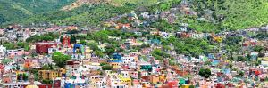 ¡Viva Mexico! Panoramic Collection - Guanajuato Colorful Cityscape IV by Philippe Hugonnard