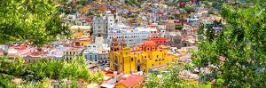 ¡Viva Mexico! Panoramic Collection - Guanajuato Colorful Cityscape IX by Philippe Hugonnard