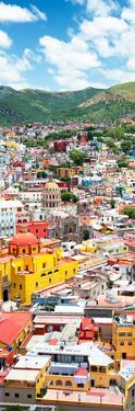 ¡Viva Mexico! Panoramic Collection - Guanajuato Colorful Cityscape V by Philippe Hugonnard
