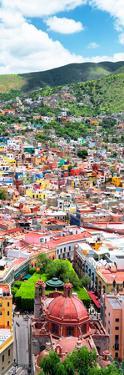 ¡Viva Mexico! Panoramic Collection - Guanajuato Colorful Cityscape VI by Philippe Hugonnard