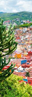 ¡Viva Mexico! Panoramic Collection - Guanajuato Colorful Cityscape XII by Philippe Hugonnard