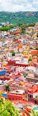 ¡Viva Mexico! Panoramic Collection - Guanajuato Colorful Cityscape XIII by Philippe Hugonnard
