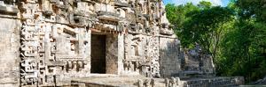 ¡Viva Mexico! Panoramic Collection - Hochob Mayan Pyramid by Philippe Hugonnard