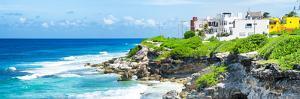 ¡Viva Mexico! Panoramic Collection - Isla Mujeres Coastline VI by Philippe Hugonnard