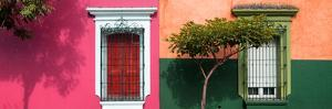 ¡Viva Mexico! Panoramic Collection - Mexican Colorful Facades II by Philippe Hugonnard