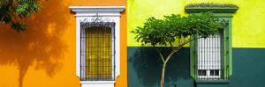 ¡Viva Mexico! Panoramic Collection - Mexican Colorful Facades IV by Philippe Hugonnard