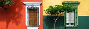 ¡Viva Mexico! Panoramic Collection - Mexican Colorful Facades by Philippe Hugonnard