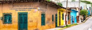 ¡Viva Mexico! Panoramic Collection - Mexican Urban Street by Philippe Hugonnard