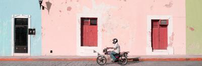 ¡Viva Mexico! Panoramic Collection - Motorbike Ride in Campeche II by Philippe Hugonnard