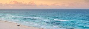¡Viva Mexico! Panoramic Collection - Ocean view at Sunset II - Cancun by Philippe Hugonnard