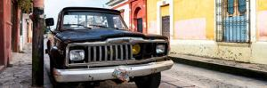 ¡Viva Mexico! Panoramic Collection - Old Jeep in San Cristobal de Las Casas by Philippe Hugonnard