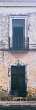 ¡Viva Mexico! Panoramic Collection - Old Mexican Facade IV by Philippe Hugonnard