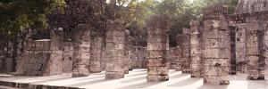 ¡Viva Mexico! Panoramic Collection - One Thousand Mayan Columns - Chichen Itza IV by Philippe Hugonnard