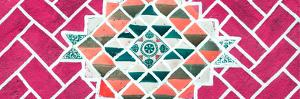 ¡Viva Mexico! Panoramic Collection - Pink Mosaics by Philippe Hugonnard