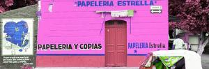 ¡Viva Mexico! Panoramic Collection - Pink Papeleria Estrella by Philippe Hugonnard