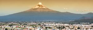 ¡Viva Mexico! Panoramic Collection - Popocatepetl Volcano in Puebla II by Philippe Hugonnard