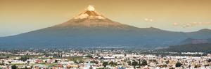 ¡Viva Mexico! Panoramic Collection - Popocatepetl Volcano in Puebla II by Philippe Hugonnard