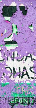 ¡Viva Mexico! Panoramic Collection - Purple Street Wall Art by Philippe Hugonnard
