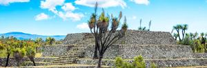 ¡Viva Mexico! Panoramic Collection - Pyramid of Cantona Archaeological Ruins III by Philippe Hugonnard