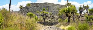 ¡Viva Mexico! Panoramic Collection - Pyramid of Cantona Archaeological Ruins V by Philippe Hugonnard
