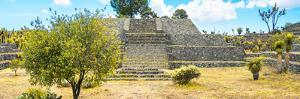 ¡Viva Mexico! Panoramic Collection - Pyramid of Cantona Archaeological Ruins by Philippe Hugonnard