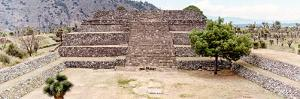 ¡Viva Mexico! Panoramic Collection - Pyramid of Cantona Archaeological Site IX by Philippe Hugonnard