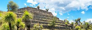 ¡Viva Mexico! Panoramic Collection - Pyramid of Cantona Archaeological Site VI by Philippe Hugonnard