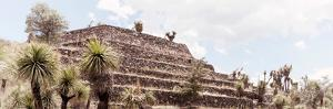 ¡Viva Mexico! Panoramic Collection - Pyramid of Cantona Archaeological Site VII by Philippe Hugonnard