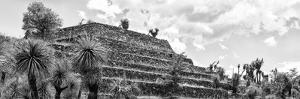 ¡Viva Mexico! Panoramic Collection - Pyramid of Cantona Archaeological Site VIII by Philippe Hugonnard