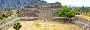 ¡Viva Mexico! Panoramic Collection - Pyramid of Cantona Archaeological Site X by Philippe Hugonnard