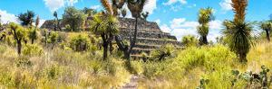 ¡Viva Mexico! Panoramic Collection - Pyramid of Cantona Archaeological Site by Philippe Hugonnard