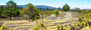 ¡Viva Mexico! Panoramic Collection - Pyramid of Cantona - Puebla I by Philippe Hugonnard