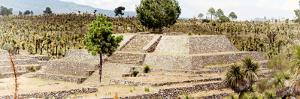 ¡Viva Mexico! Panoramic Collection - Pyramid of Cantona - Puebla V by Philippe Hugonnard