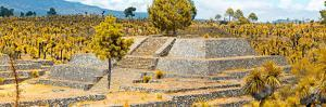 ¡Viva Mexico! Panoramic Collection - Pyramid of Cantona - Puebla VI by Philippe Hugonnard