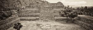 ¡Viva Mexico! Panoramic Collection - Pyramid of Cantona - Puebla by Philippe Hugonnard