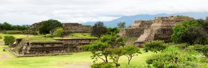 ¡Viva Mexico! Panoramic Collection - Pyramid of Monte Alban II by Philippe Hugonnard