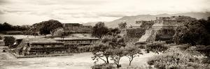¡Viva Mexico! Panoramic Collection - Pyramid of Monte Alban III by Philippe Hugonnard