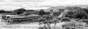 ¡Viva Mexico! Panoramic Collection - Pyramid of Monte Alban IV by Philippe Hugonnard