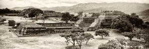 ¡Viva Mexico! Panoramic Collection - Pyramid of Monte Alban IX by Philippe Hugonnard