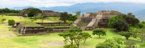 ¡Viva Mexico! Panoramic Collection - Pyramid of Monte Alban VIII by Philippe Hugonnard