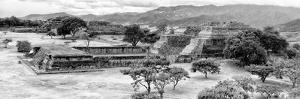 ¡Viva Mexico! Panoramic Collection - Pyramid of Monte Alban X by Philippe Hugonnard